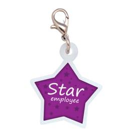 Star Status Badge Reel Accessory