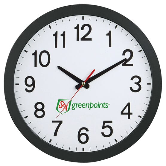 12Inch Slim Wall Clock