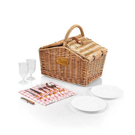 Duo Service Picnic Basket Set