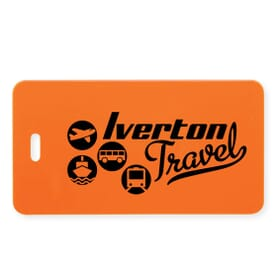 Colorfully Custom Luggage Tags