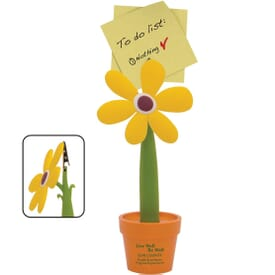 Flower Pot Note Stand