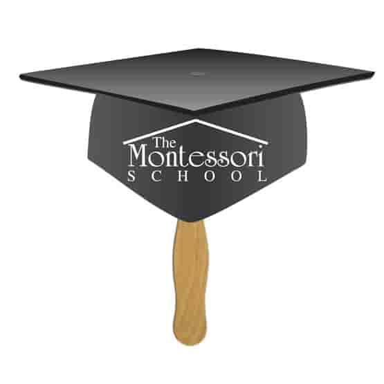 Graduation Cap Shaped Fan