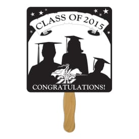 Square Graduation Fan