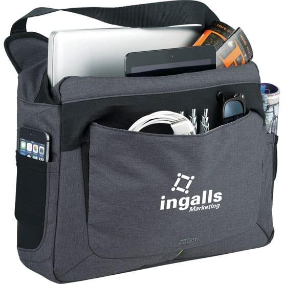 Zoom® Power Stretch Compu-Messenger Bag