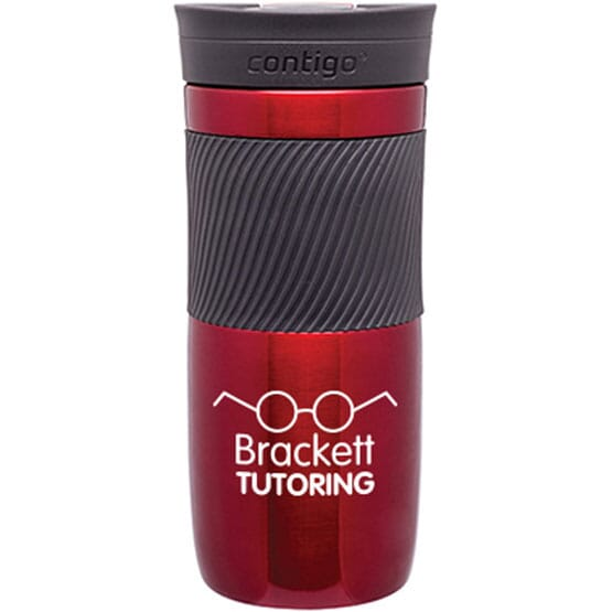 Red Contigo® Byron Vacuum Insulated Bottle