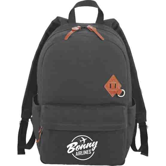 Alternative® Basic Cotton Computer Backpack