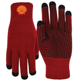 Text Gloves W/Non Slip Grip