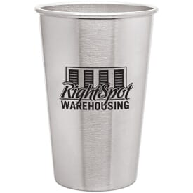 16 oz Simple Stainless Pint Glass