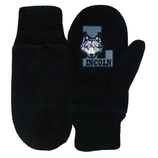 Fleece Mascot Mittens