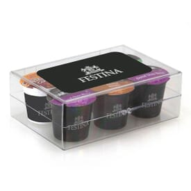 6 Piece Coffee Pod Gift Set With Plastic Box