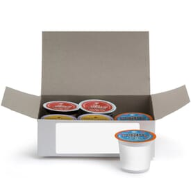 6 Piece Coffee Pod Gift Set With White Box