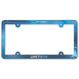 Vibrant License Plate Frame