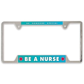 Metal License Plate Frame