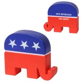 Republican Elephant Stress Shape