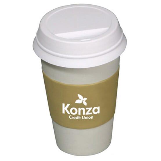 Portable Coffee Stress Shape