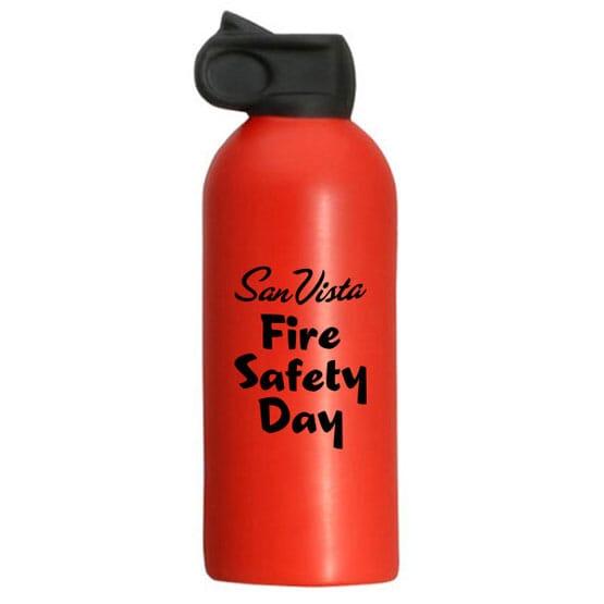 Extinguisher Stress Shape