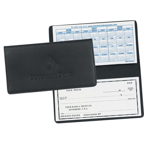 Customized Checkbook Cover
