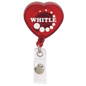 Heart Shaped Badge Holder