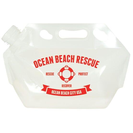 2 Gallon Flat Emergency Water Bag