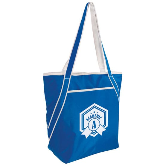 Angled Handles Cooler Tote