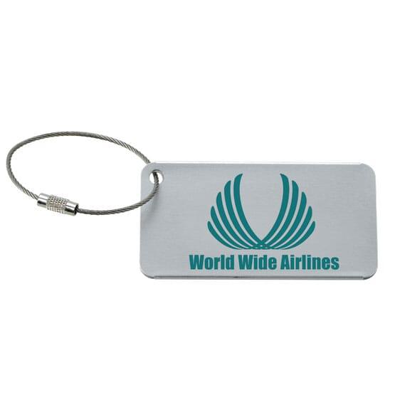 Aluminum Luggage Tag