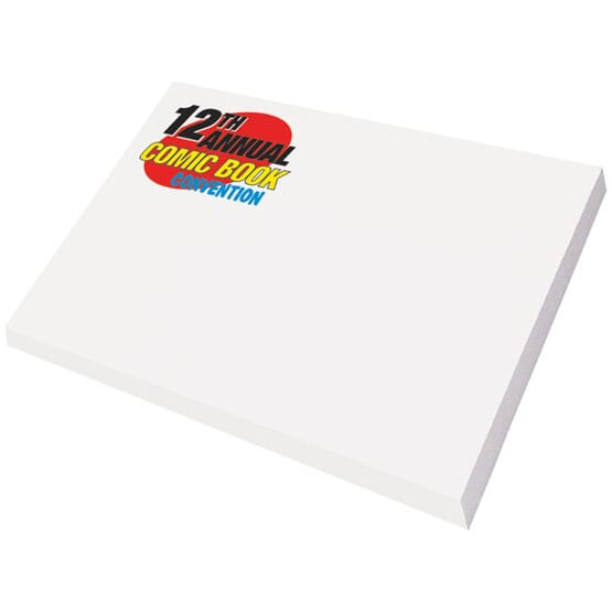 "Post-It® Custom Printed Notes 3"" x 4"" - 24hr Service"