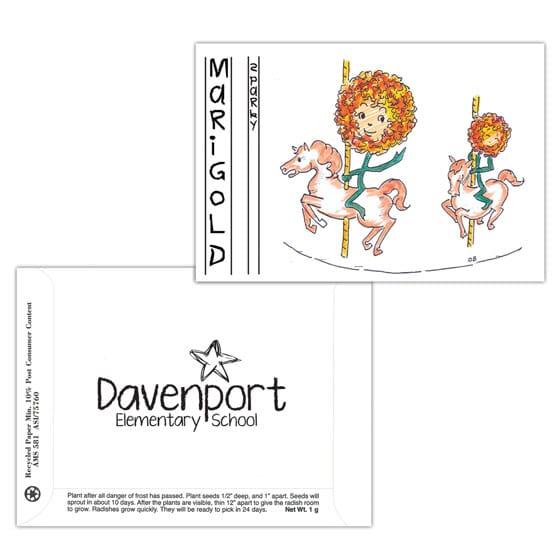Dorothy's Kids Series Seed Packet- Marigold