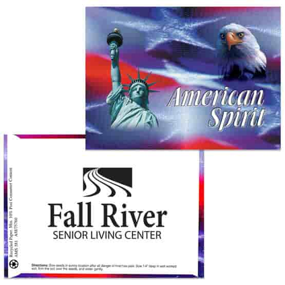 American Spirit Series Seed Packet- American Spirit Liberty/Eagle