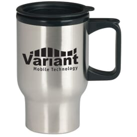 17 oz Stainless Steel Travel Mug
