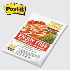 "Post-It® Custom Printed Notes 4 "" X 6"" - 24hr Service"