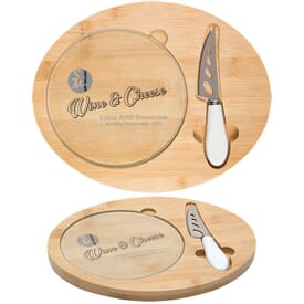 Three Piece Cheese Board Set