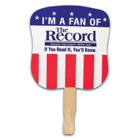 Patriotic Hand Fan- Stars & Stripes