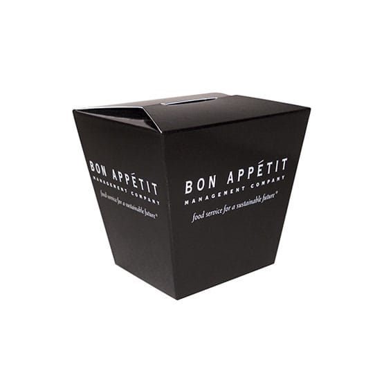 Chinese Take Out Style Box