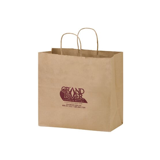 Brown Paper Carry-Out Bag