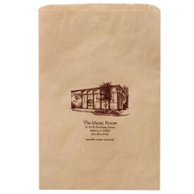 Jumbo Brown Paper Slip Bag