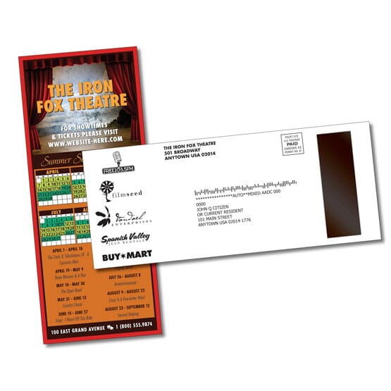 Card/Postcard With Magnet (1 Side)