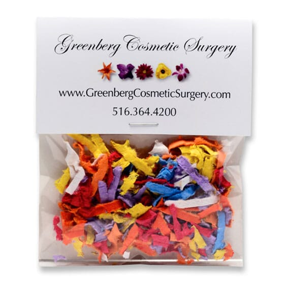 Confetti seed packet