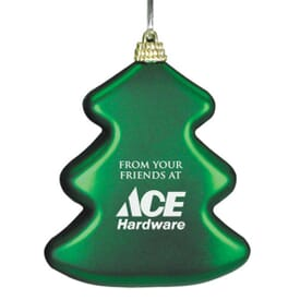 Tree Shaped Christmas Ornament