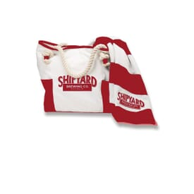 Portland Bag™ And Matching Striped Beach Towel