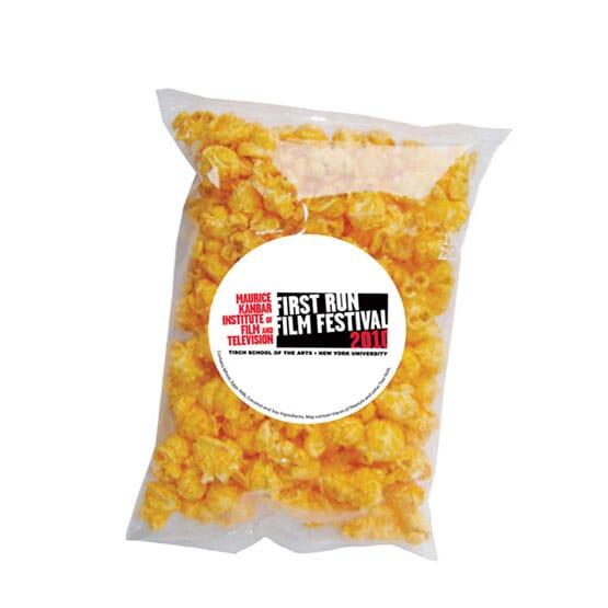 Single Serve Cheese Popcorn Bag