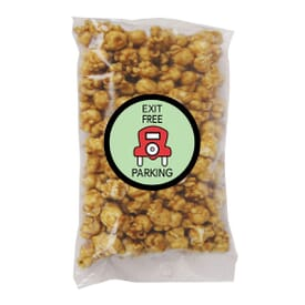 Single Serve Caramel Popcorn Bag