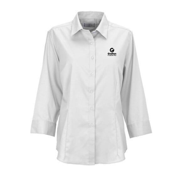 e1be76b050c Van Heusen Women s Easy Care Dress Twill Shirt - Promotional