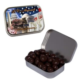 Large Chocolate Espresso Beans Tin