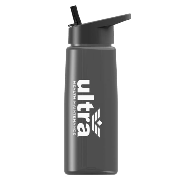 26 Oz Tritan(TM) Flair Bottle With Flip Straw Lid 118063