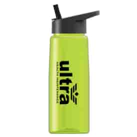 26 oz Tritan™ Flair Bottle with Flip Straw Lid