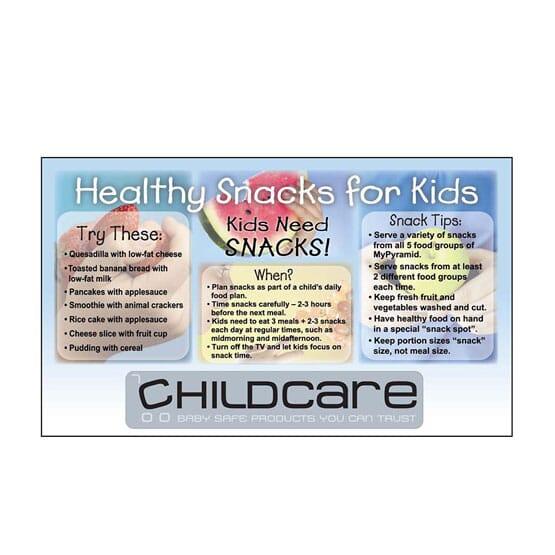 "3 1/2"" x 6"" Healthy Snacks Mega-Mags™ Magnet"