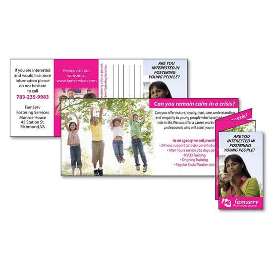 8 Panel Mini Brochure