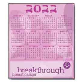 2022 Pink Ribbon Calendar