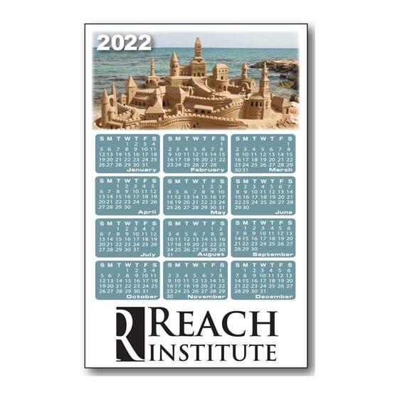 2020 Sand Castle Magnet Calendar