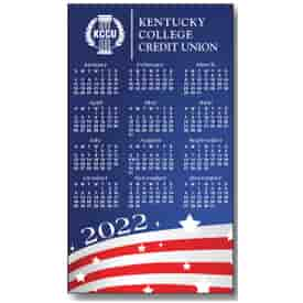 2022 Stars and Stripes Magnetic Calendar